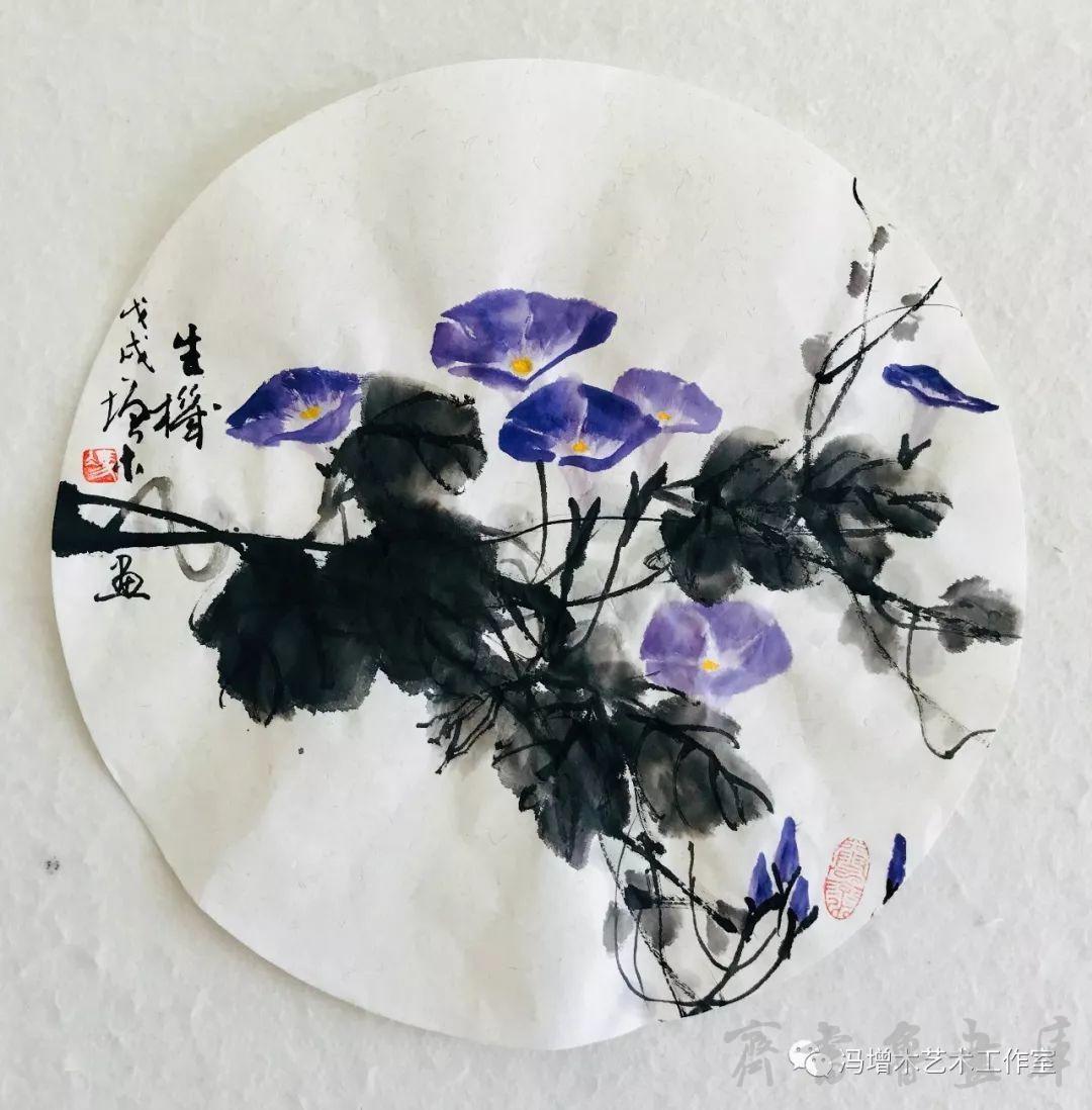 冯增木山水花卉小品近作赏析