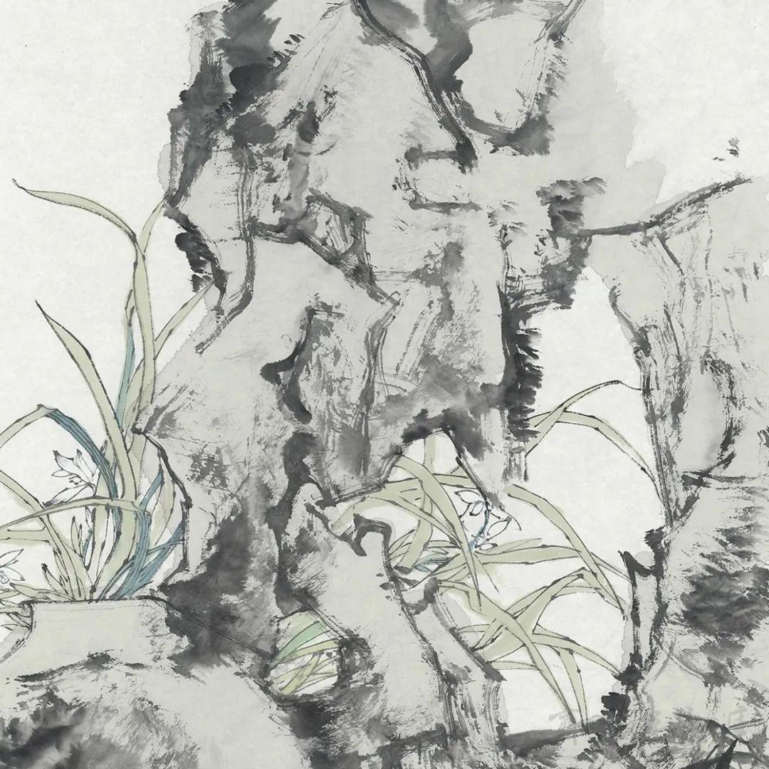 杨晓刚《齐鲁先贤》系列人物作品欣赏