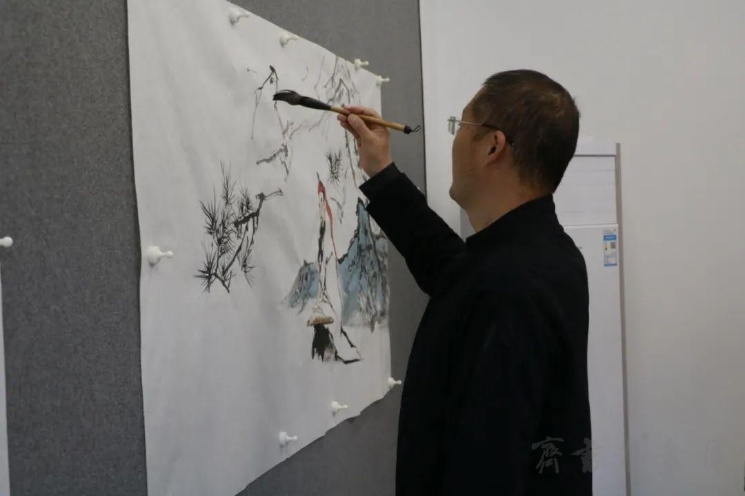 山东省青年美术家协会写生创作基地(新湖美术馆)揭牌仪式暨首届青年美术家精品展开幕